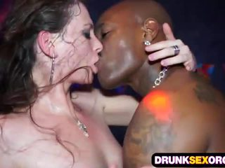 brunette, fucking, big dick, groupsex, group sex, drunk
