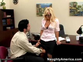 ממשי סקס הארדקור ממשי, הטוב ביותר בלונדיניות נחמד, סקס במשרד ביותר
