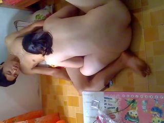 Aziatisch koppel having seks tranh thu luc con ngu deel 1.