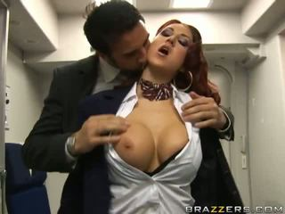 Brazzers Airline Flight Attendant Kylee Strutt Video