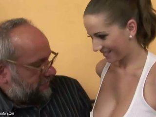Quái với một blind cô gái khiêu dâm