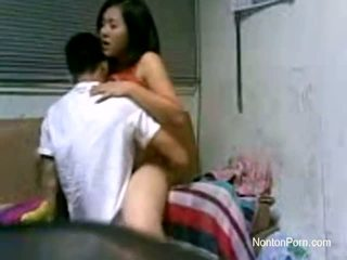 Jakarta couples neuken bij slaapzaal