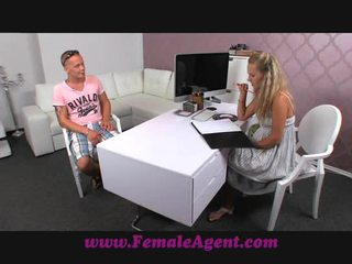 FemaleAgent Stud dissapoints MILF in casting