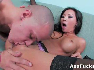 Asa akira gets 彼女の プッシー pounded ハード