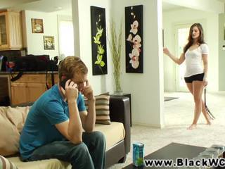 Lily carter fucked by a ireng guy