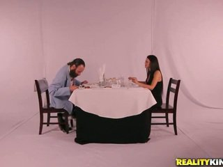 Fancy dinner সঙ্গে পাছা meal