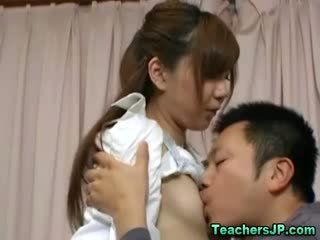 Asian nurse and horny patient getting it on