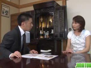 Hisae yabe japoneze moshë e pjekur