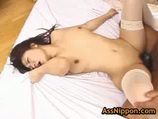 Gorgeous rei himekawa gets fucked in the anus 3 by assnippon