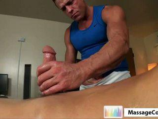 Massagecocks brice oily pakaļa fucking.p5