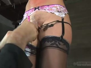 Hot slave delights with oral sex