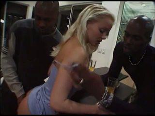 blondjes, anaal, interraciale