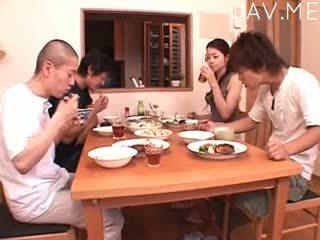 japonés, masturbación, duro