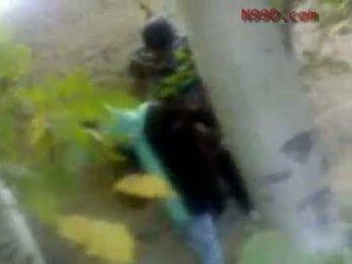 Arab iranian cô gái fucked lược trong các ass trong các woods