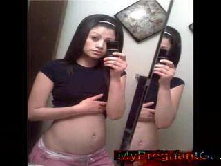Real Preggo Teen Girlfriends!