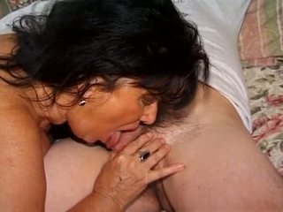 Porner Premium: The granny get hard rammed into her ass by a young hard cock