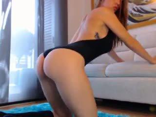 Sexy roodharige webcam meisje met groot boezem 3: gratis porno cb