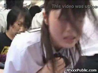 Seksuālā japānieši tīņi jāšanās uz publisks places 30