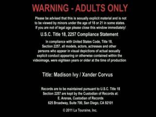 Xander corvus y madison ivy has sexo en la trabajo
