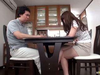 japonais, éjaculation, asiatique