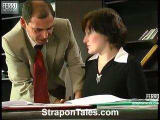 femdom, strapon, sekoittaa