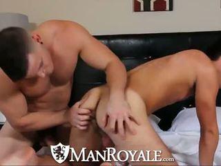 Manroyale muscle guy can't انتظر إلى الحصول على عار
