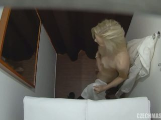 blondes, hidden cam, massage
