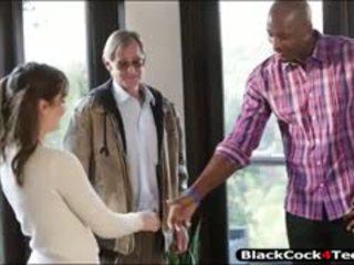 Kasey Warner Drilled By Big Black Dick