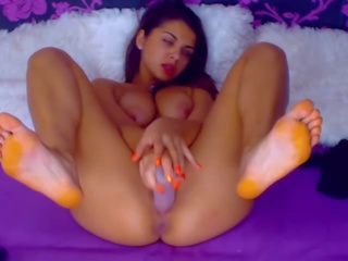 Hot Webcam Babe Masturbating on Cam, Free Porn ad