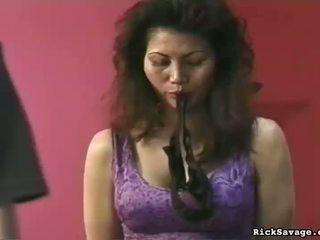 Сексуальна ангел цицьки butchered