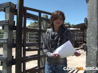 Carne del mercado - brunete latina laura toro has karstās