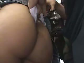 Shy Schoolgirl Reluctant Train Orgasm