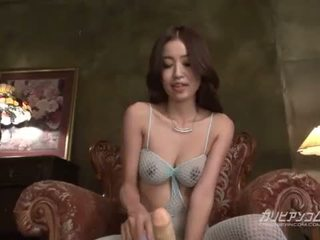 Gorgeous hotties plays toys and rides dildo deep inside
