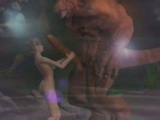 हेंटाई सेक्स ३डी fantasy साथ demons 2
