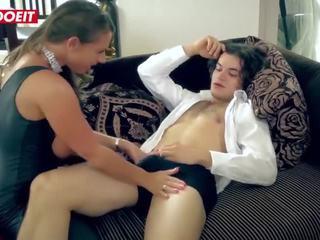Letsdoeit - Big Tits Cougar Pornstar Sexy Susi Demands Sex From Amateur