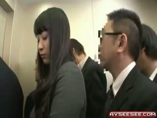 Muito sexy e quente japonesa gaja caralho vídeo