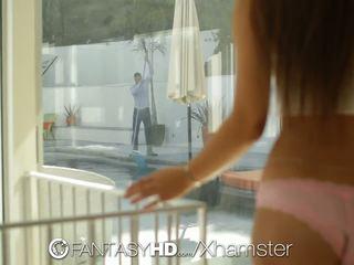 Fantasyhd - Dani Daniels Shows Guys Hard Cock who is.