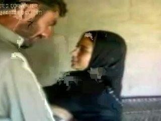 dívka, arab, horký