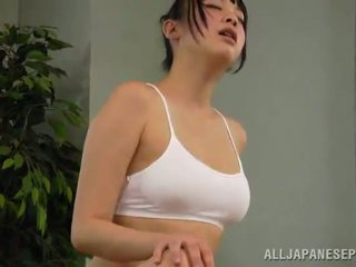 Mesi reiko kobayaka was kuni sexcited jaoks petting