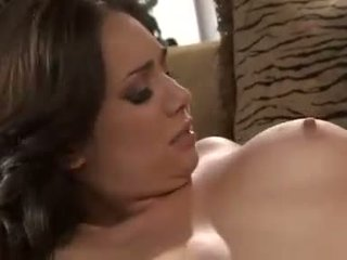 The meatpole and the MILF watch Holly West make the most of this young cock
