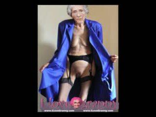 Ilovegranny amatir tua nenek menunjukkan telanjang seksi tubuh
