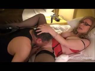 Nina hartley meets dapperdan en exxxotica uses su cara para cuntlick lesson