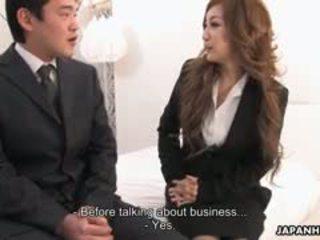 Офис дама aiko nagai в а извратен тройка