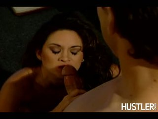 Lusty Honey Stephanie Swift Munches A Beefy Hard Wang In This Guyr Mouth And Loves It