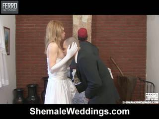 Alessandra Tony Just Married Shemale Duo