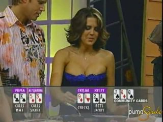 Blonde Puma Swede Wins A Jackpot Inside Poker