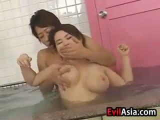 Ázsiai cinege fasz nál nél a szauna