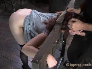 स्लेव gets vicious drilling