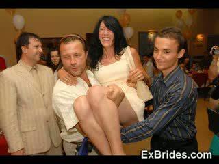 Real slutty exgf brides!