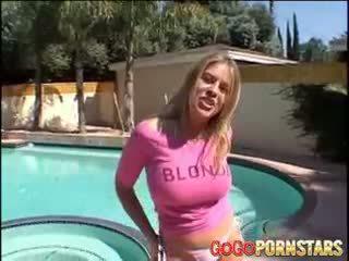 Povekas blondie pornotähti daphne rosen teasing meitä kanssa hänen iso